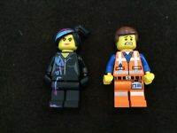 Lot Of 2 Minifigs Lego Movie 2 70847 Emmet and Lucy minifigures