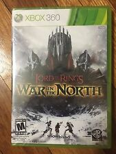Lord of the Rings: War in the North (Microsoft Xbox 360, 2011) Brand New