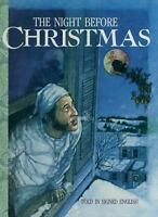 Night Before Christmas : Told in Signed English Hardcover Clement Clarke Moore
