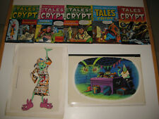 E.C.Tales From The Crypt-T.V.Series-Orig.Han d Painted Cel(2)+E.C.Comics(#1-5)