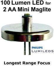 Mini Maglite LED Upgrade AA Taschenlampe Verbesserung Philips Lumileds 1 watt