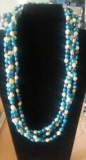 Western  Navajo Style Bead Layered Necklace....... Beautiful