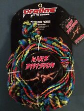 Proline Wake Division Rope Knotted Surf Package. 16 ft. Free Shipping.