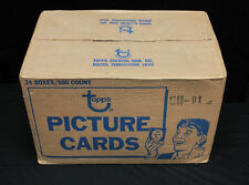 1981-82 Topps Hockey Sealed Vending Case with 24 Mint Vending Boxes