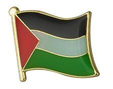 Palestine Flag Lapel Pin Badge Superior High Quality Gloss Enamel (علم فلسطين)