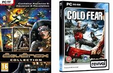 Aquanox 1 & 2 Collection & cold fear    new&sealed