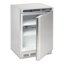 POLAR Under counter Commercial Single Door Freezer 140L Stainless Steel CD081-A