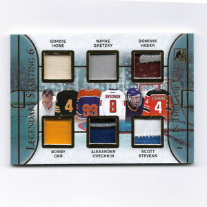Legendary Starting 6 2014 Leaf In the Game Used 6 Patch Card 2/4