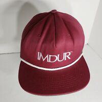 Vintage 90s IMDUR Pharmaceutical Hat Ball Cap