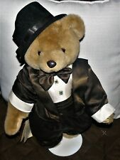 1996 Bridal Bears Elegant Groom by Cheryl De Rose  16""