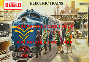 Hornby Dublo 1960 Deltic A4 Size Poster Advert Shop Display Sign British Rail
