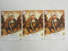 L5R Stronghold Season 2 x3 Promo Full Art READY FOR BATTLE Legend the Five Rings