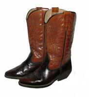 """"""" CIAK """" Western- Stiefel / Cowboy- Boots in braun ca. Gr. 40-40,5"""