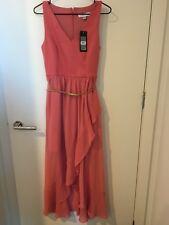 Forever New Women's 2 in 1 Tea Rose Maxi Dress Size 8