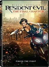 Resident Evil: Final Chapter (2017, DVD NEW)
