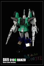 Transformers DX9 toys D10G Hanzo Retro color version MP Sixshot G1 figure New