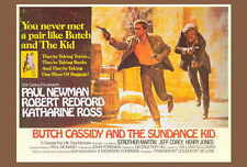 Butch Cassidy And The Sundance Kid Movie Poster B 27x40 Paul Newman Redford