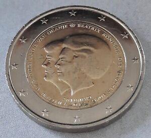 2 euro 2013 Nederland Pays-Bas Нидерланды 荷兰 オランダ Paesi Bassi Abdication