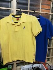 Preloved Tip Top Condition 2 pcs Hush Puppies Top / Shirt - Yellow & Blue