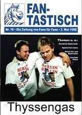 DFB-Pokalendspiel 1998 Bayern München - MSV Duisburg, 16.05.1998 FAN-TASTISCH