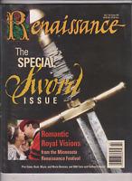 Renaissance Mag A Special Sword Issue & Festival No.26 2002  013120nonr