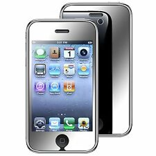 3 X Mirror LCD Screen Protector Cover Film Guard For Apple iPhone 3G 3GS