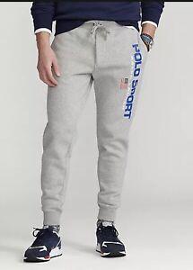 Mens Polo Ralph Lauren Grey Joggers XL RRP £109