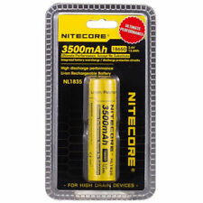 Genuine Nitecore NL1835 3500mAh Protected 3.6v 18650 Rechargeable Li-ion Battery