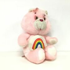 Vintage 1983 Care Bears Pink Cheer Bear Plush Toy Kenner #546