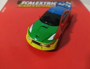 scx compact SCALEXTRIC COMPACT COCHE TUNING CON LUCES!!