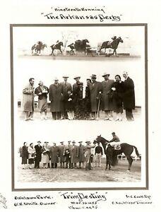"1955 - Arkansas Derby Winner - TRIM DESTINY - 3 Photo Composite - 8"" x 10"""