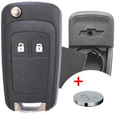 Klapp Schlüssel Gehäuse + Batterie CHEVROLET Matiz Kalos Aveo Cruze Captiva