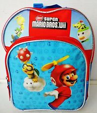 Super Mario Bros (Nintendo Wii) Small Canvas Backpack – GUC