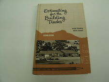 Estimating for the Building Trades by J. Steinberg and M. Stempel - 2nd  Ed