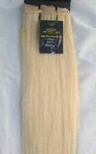 "New 26"" Human Hair 17Clips In Extensions 8Pcs 100g Blonde #613 Light Blonde"