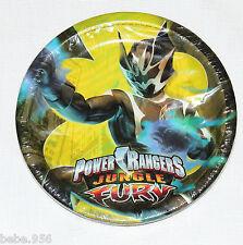 NEW ~POWER RANGERS  FURY  8 -DESSERT PLATES  3 DESIGNS  PARTY  SUPPLIES