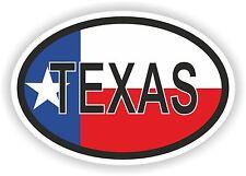 OVAL TEXAS STATE WITH FLAG USA STICKER AUTO MOTO TRUCK LAPTOP BIKE CAR