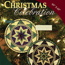 CHRISTMAS CELEBRATION TREE SKIRT QUILT PATTERN Foundation Paper Piecing NIEMEYER