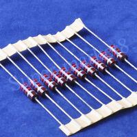10pcs 470 Ohm 470R 1//2W Carbon Comp Composition Resistor ALLEN Style