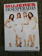 MUJERES DESESPERADAS DESPERATE HOUSEWIVES TEMPORADA SEASON 1 COMPLETA - 6 DVD