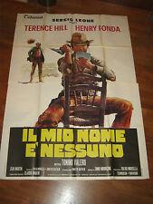 MANIFESTO,TERENCE HILL,IL MIO NOME E' NESSUNO,LEONE,HENRY FONDA VALERII 1973