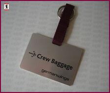 Germanwings Crew Baggage jour Valise remorque Cabin Cockpit Lufthansa Group/NEUF