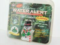 Christmas Tree Water Alert Water Me Now Snowman Holiday Decor