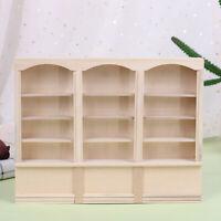 1:12 Dollhouse Mini Bookcase Display Shelf Bookshelf Locker Doll House Decor YK