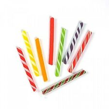 Old-Fashioned Candy Sticks, 80 pc, Fat Free, 8 Flavors, Assorted Colors, New