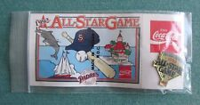 VINTAGE VONS COCA-COLA 1992 MLB ALL-SATR GAME SAN DIEGO PADRES LAPEL PIN W/CARD