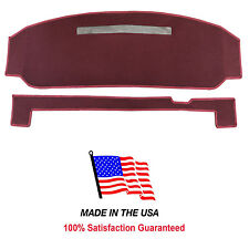 1990-1994 Chevy Lumina Burgundy Carpet Dash Cover Mat Pad CH95-10.5 USA Made