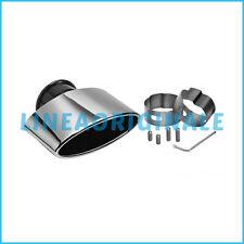 Terminale ORIGINALE Fiat 500 finale scarico cromato acciaio inox 50901688 new it