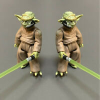 Star Wars Yoda master The CLONE WARS trooper Action Figure Toys gifts