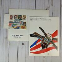 Sealed 1974 Mint Set Commemorative USPS Souvenir Yearbook Album with Stamps #931